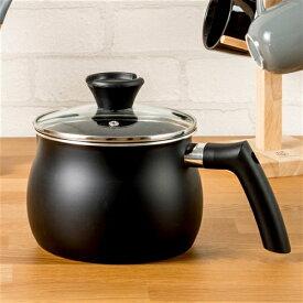 マルチポット マルチに使える 話題の鍋 ブラック 炒める 煮る 沸かす 炊く [2.5L] 27.5×17.5×17.0cm