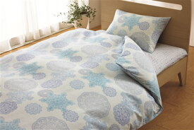 西川株式会社 2138-22919 BL ピロケース ドイリーレース ORNE 43×65cm ブルー