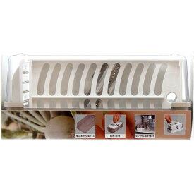 貝印 KHS 調理器セット(千切、ツマ切、スライス、おろし) 000DH7076 ホワイト キッチンツール