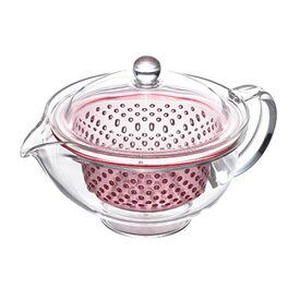 曙産業 クリアティーポット (プラスチック製) ピンク