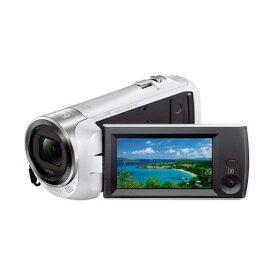 ビデオカメラ ソニー ビデオ カメラ HDR-CX470-W デジタルHDビデオカメラレコーダー ホワイト ビデオカメラ