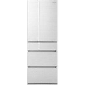 【ポイント2倍!3月29日(日)00:00〜】【無料長期保証】パナソニック NR-F505HPX-W 6ドア冷蔵庫(500L・フレンチドア) アルベロホワイト