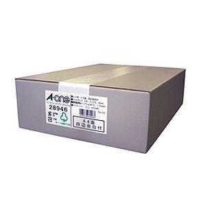 エーワン 28946 ラベルシール インクジェット ( A4 / 44面 / 四辺余白付 / 500シート ) ホワイト