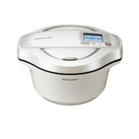シャープ KN-HW24E-W 水なし自動調理鍋 「ヘルシオ ホットクック」(2.4L) ホワイト系