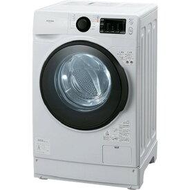 【無料長期保証】アイリスオーヤマ HD81AR-W ドラム式洗濯機 (洗濯・脱水8.0kg/左開き) ホワイト