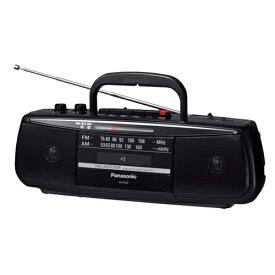 パナソニック RX-FS27-K ステレオラジオカセットレコーダー ブラック