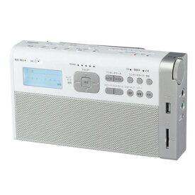 東芝 TY-RHR1(W) 録音ラジオ タイマー機能 SDカード対応 USBメモリー対応