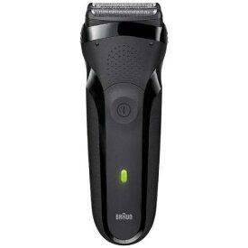 ブラウン 300S-B シェーバー 「シリーズ3」(3枚刃)ブラック 髭剃り シェーバー