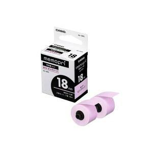 メモプリンターテープ 18mm幅(ピンクテープ) XA-18PK