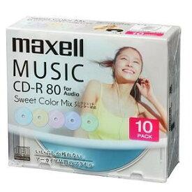 音楽用CD-R 80分 カラープリンタブル 10枚ケース