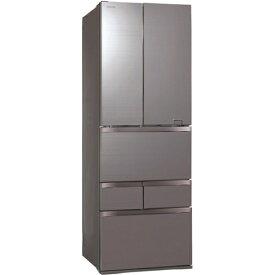【無料長期保証】東芝 GR-S460FZ(ZH) 6ドア冷蔵庫 (461L・フレンチドア) VEGETA(べジータ) FZシリーズ アッシュグレージュ