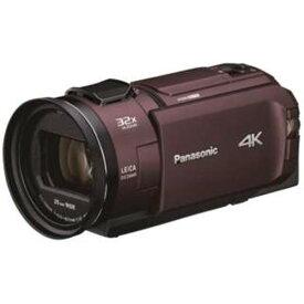 パナソニック HC-WX2M-T デジタルビデオカメラ カカオブラウン 4K対応
