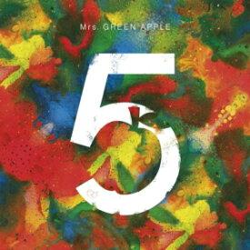 【CD】Mrs.GREEN APPLE / 5 COMPLETE BOX(完全生産限定)(DVD+Blu-ray Disc付)