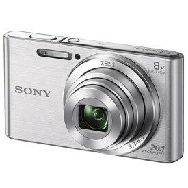 デジタルカメラ ソニー SONY DSC-W830 コンパクトデジタルカメラ Cyber-shot サイバーショット シルバー デジカメ コンパクト
