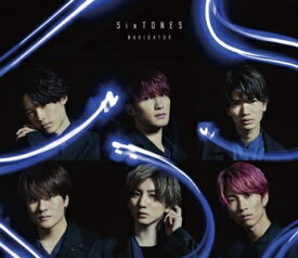 【CD】SixTONES / NAVIGATOR(初回盤)(DVD付)