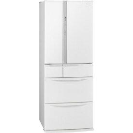 【無料長期保証】パナソニック NR-FV45S6-W エコナビ搭載6ドア冷蔵庫 (451L・フレンチドア) ハーモニーホワイト