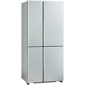 【無料長期保証】冷蔵庫 アクア 500L以上 AQUA AQR-TZ51J(S) 4ドア冷蔵庫 (512L・左右開き) サテンシルバー