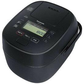 【無料長期保証】お手入れ簡単 炊飯器 パナソニック SR-MPA100 IHジャー炊飯器 5.5合炊き ブラック 5.5合