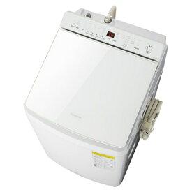 【無料長期保証】パナソニック NA-FW80K8-W 縦型洗濯乾燥機 (洗濯9kg・乾燥4.5kg) 泡洗浄 ホワイト