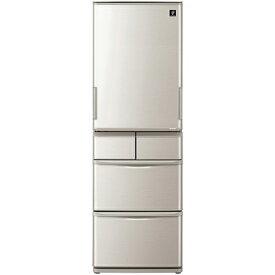【無料長期保証】シャープ SJ-W412F-S 5ドアプラズマクラスター冷蔵庫 (412L・左右開き) シルバー系【沖縄・離島はお届けできません】