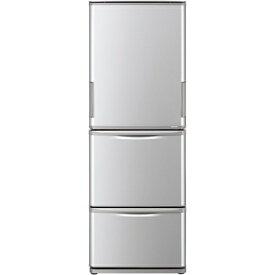 【無料長期保証】シャープ SJ-W352F-S 3ドア冷蔵庫 (350L・左右開き) シルバー系