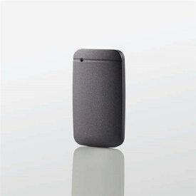 エレコム ESD-EF1000GBKR USB Type-Cケーブル付き外付けポータブルSSD 1TB ブラック