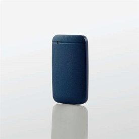 エレコム ESD-EF1000GNVR USB Type-Cケーブル付き外付けポータブルSSD 1TB ネイビー