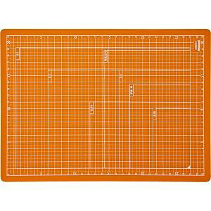 ナカバヤシ CTMO-A4-OR 折りたたみカッティングマット A4サイズ オレンジ