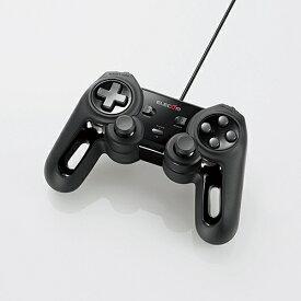 エレコム JC-U4013SBK 超高性能有線ゲームパッド ブラック