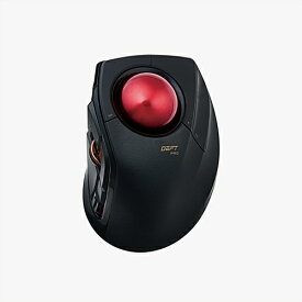 エレコム M-DPT1MRBK トラックボール 「DEFT PRO」(人差し指操作タイプ)