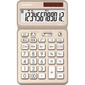 SHARP EL-VN82-NX 卓上電卓 12桁 50周年記念モデル シャンパンゴールド