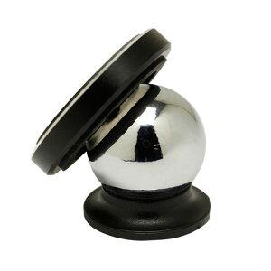 オウルテック OWL-CHSPMG01-BK マグネット式車載ホルダー スマートフォン対応 360度回転 強力ネオジム磁石 ブラック