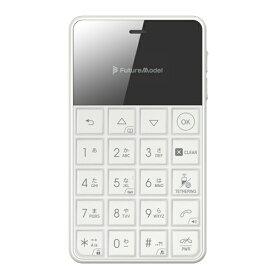 フューチャーモデル MOB-N18-01-WH SIMフリー携帯電話 Android 6.0搭載 「NichePhone-S 4G」 白
