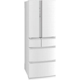 【無料長期保証】三菱電機 MR-R46F-W 6ドア冷蔵庫(462L・フレンチドア) クリスタルホワイト