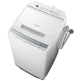 【無料長期保証】洗濯機 日立 7KG BW-V70F W 全自動洗濯機 ビートウォッシュ (洗濯7kg) ホワイト