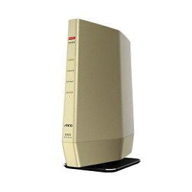 バッファロー WSR-5400AX6-CG Wi-Fi 6(11ax)対応 無線LANルーター プレミアムモデル シャンパンゴールド