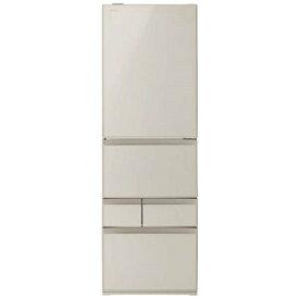 【無料長期保証】東芝 GR-R41GXV-EC 5ドア冷蔵庫(411L・右開き) サテンゴールド