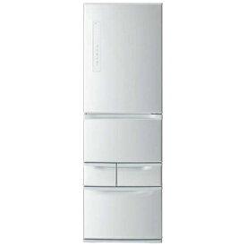 【無料長期保証】東芝 GR-R41GL-S 5ドア冷蔵庫(411L・左開き) シルバー