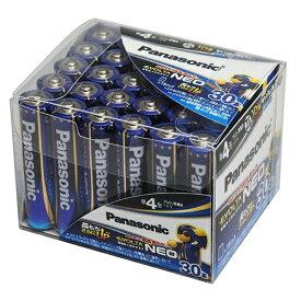 パナソニック LR03NJ30SH アルカリ乾電池 エボルタネオ 単4×30本