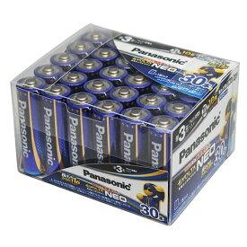 パナソニック LR6NJ30SH アルカリ乾電池 エボルタネオ 単3×30本