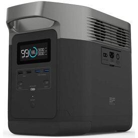 ポータブル電源 エコフロー 大容量 急速充電 EcoFlow EFDELTA1300-JP/容量1260Wh/出力1600W/2時間急速充電を実現/次世代ポータブル電源
