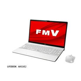 ノートパソコン 新品 富士通 FMVA53E2W FMV LIFEBOOK プレミアムホワイト ノートpc ノート パソコン