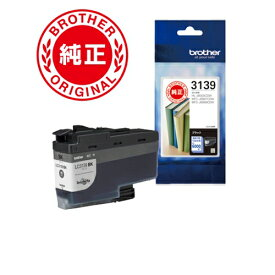 インク ブラザー 純正 カートリッジ LC3139BK インクカートリッジ ブラック