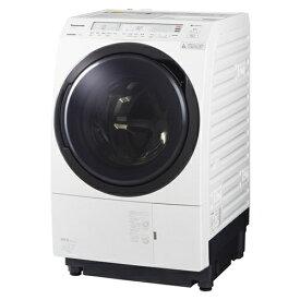 【無料長期保証】洗濯機 パナソニック ドラム式 11LG NA-VX800BL-W ななめドラム洗濯乾燥機 (洗濯11kg・乾燥6kg) 左開き クリスタルホワイト