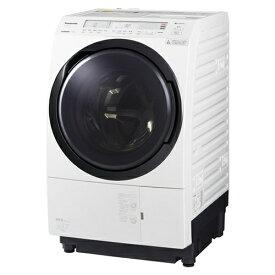 【無料長期保証】パナソニック NA-VX800BR-W ななめドラム洗濯乾燥機 (洗濯11kg・乾燥6kg) 右開き クリスタルホワイト