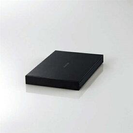 エレコム ESD-EJ0120GBK 外付けポータブルSSD 120GB ブラック