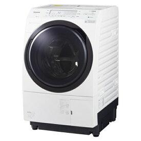【無料長期保証】パナソニック NA-VX700BL-W ななめドラム洗濯乾燥機 (洗濯10kg・乾燥6kg) 左開き クリスタルホワイト