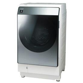 【無料長期保証】シャープ ES-W113-SL ドラム式洗濯乾燥機 (洗濯11.0kg・乾燥6.0kg) 左開き シルバー系