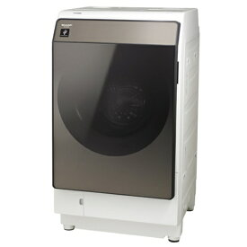 【無料長期保証】シャープ ES-WS13-TL ドラム式洗濯乾燥機 (洗濯11.0kg・乾燥6.0kg) 左開き ブラウン系
