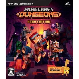 マインクラフト ダンジョンズ ヒーロー エディション (XboxOne版) QYN-00010